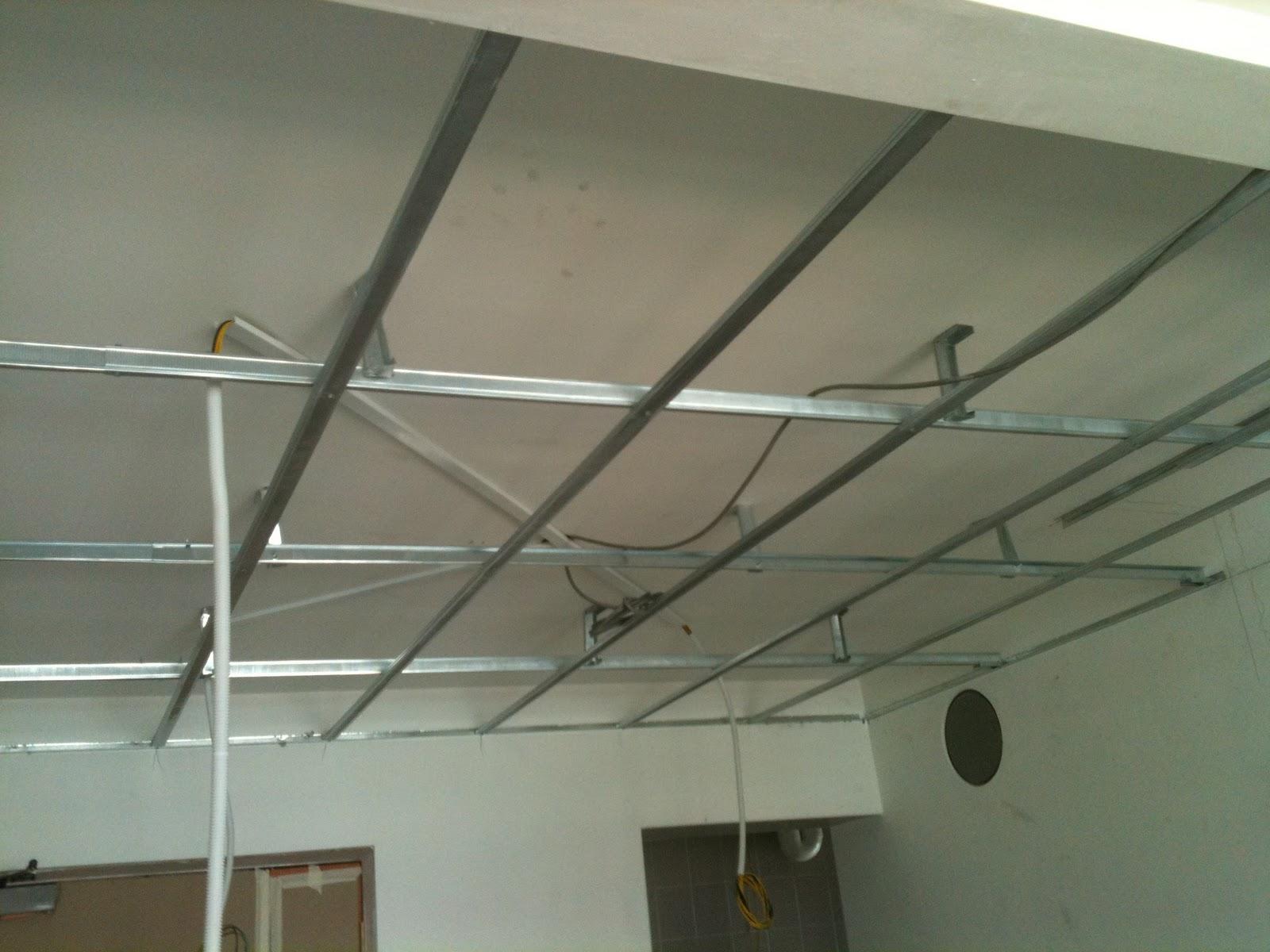 آموزش نصب سقف کاذب سرویس بهداشتی